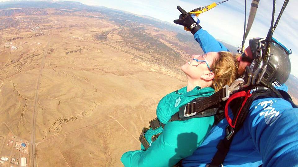 Skydive Colorado Tandem Parachute