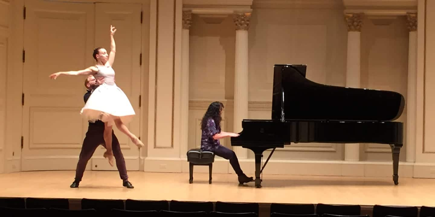 Stacey Rose Rehearsal Carnegie Hall