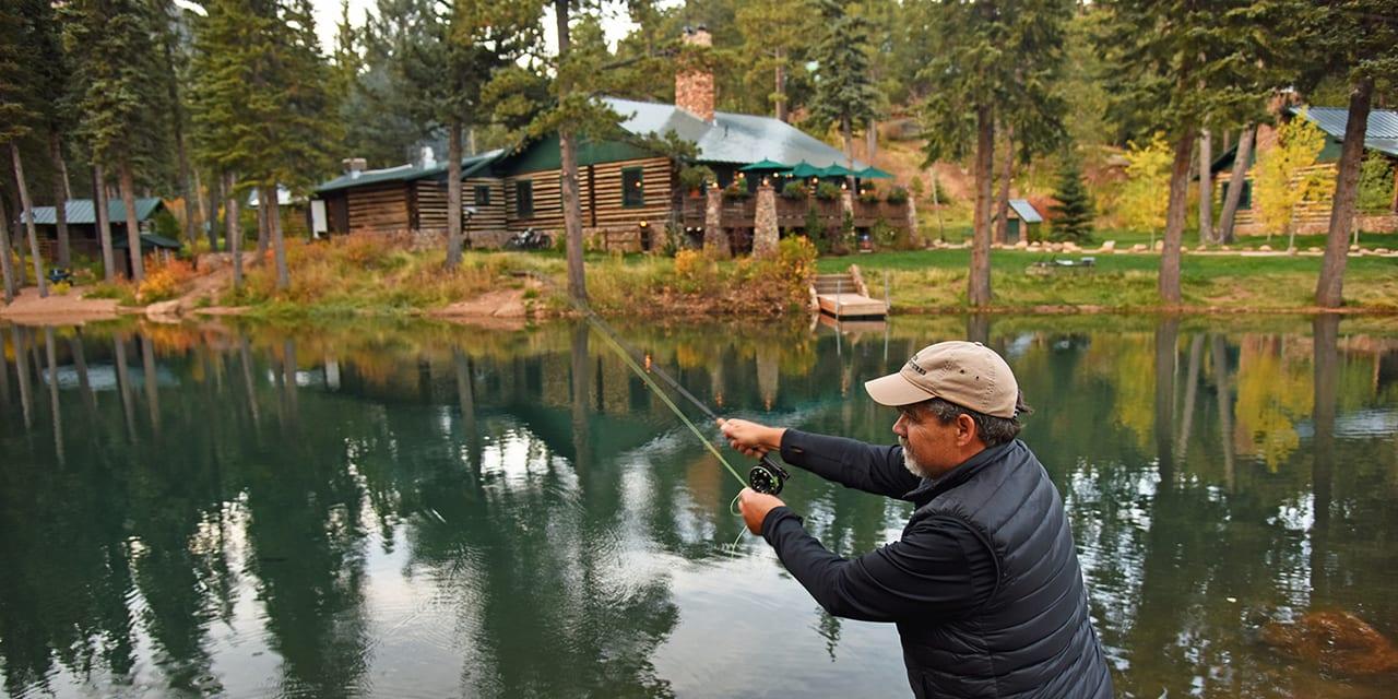 Ranch at Emerald Valley Fly Fishing Colorado Springs