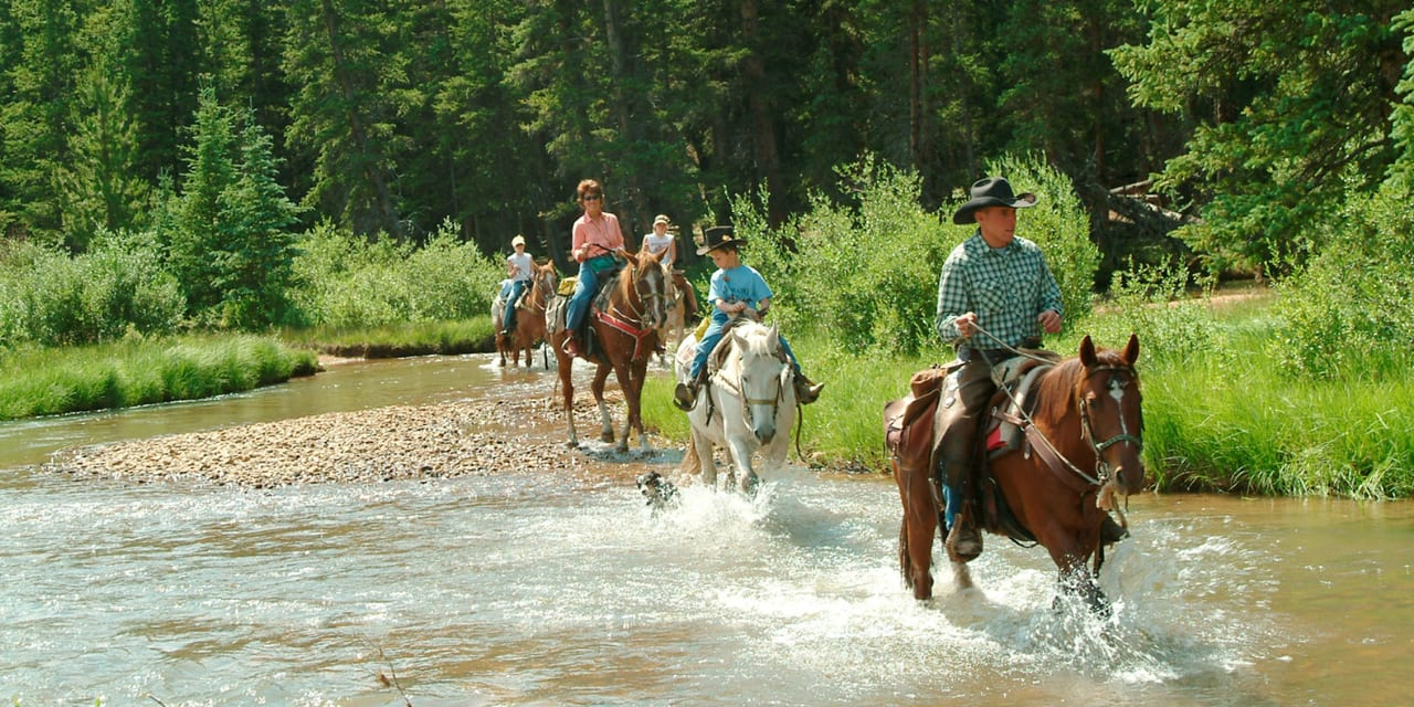 Tumbling River Ranch Horseback Riding Grant