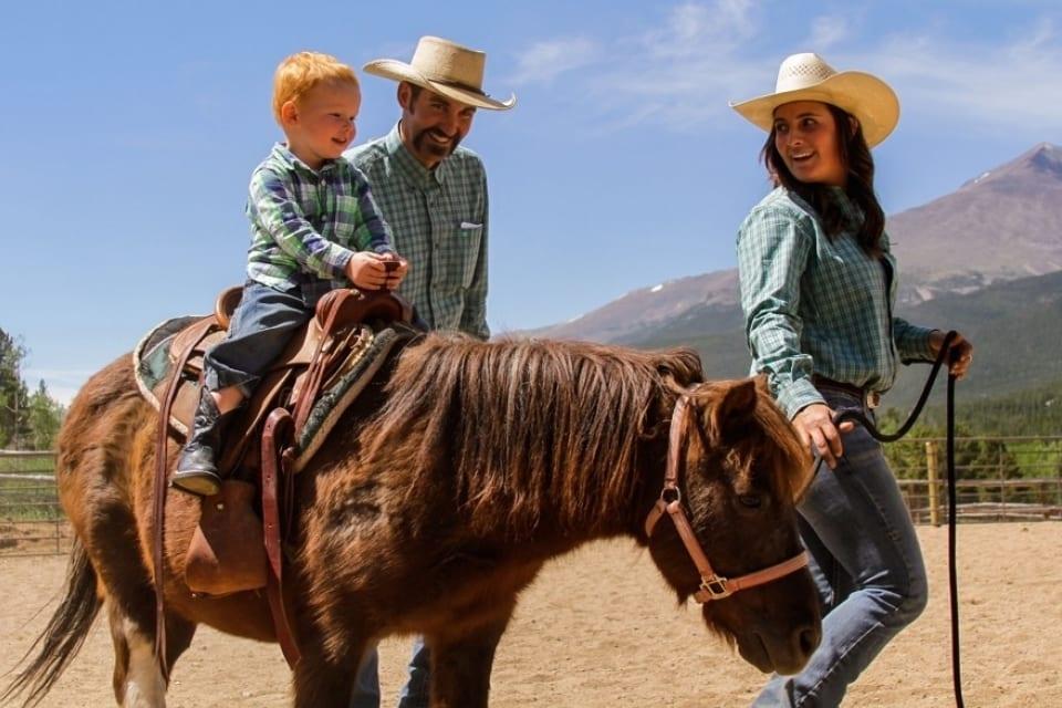 Wind River Ranch Horseback Riding Estes Park