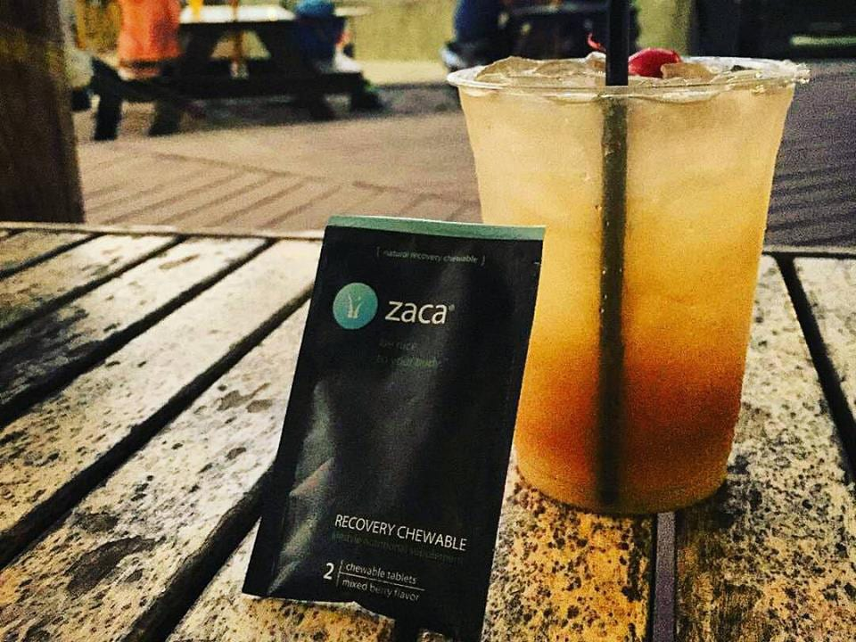 Zaca Recovery Chewable Drinking