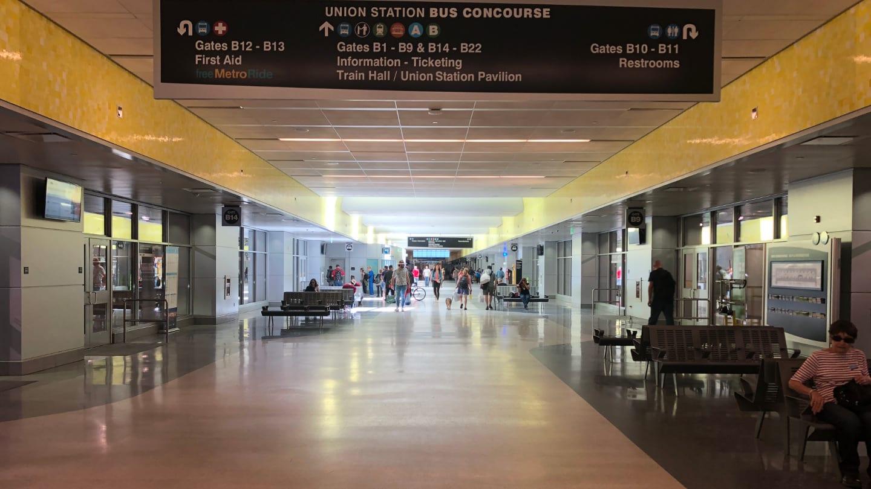 Denver Union Station Bus Concourse