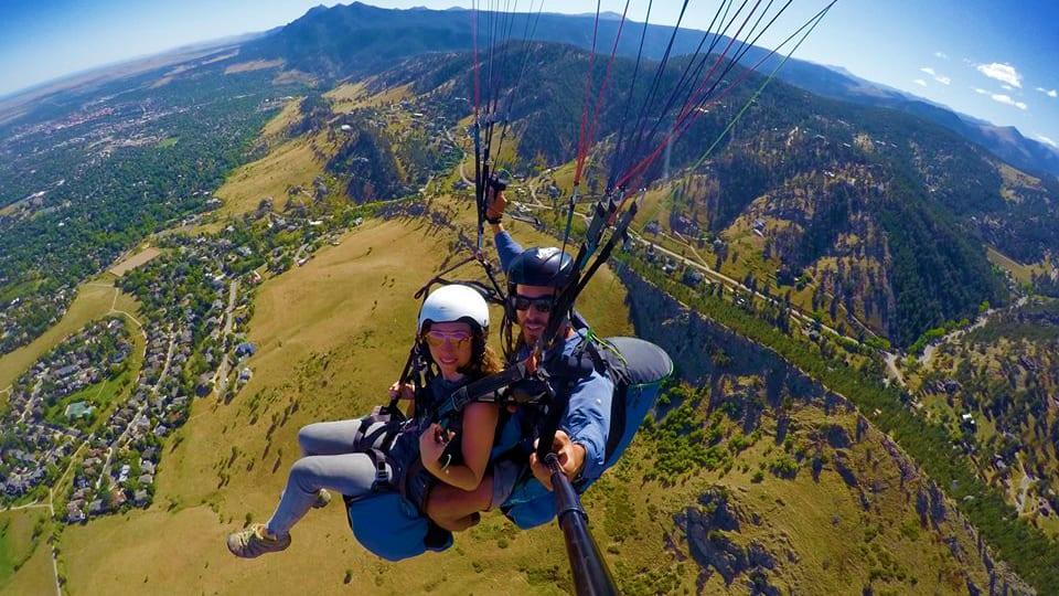 Peak to Peak Paragliding Boulder Colorado