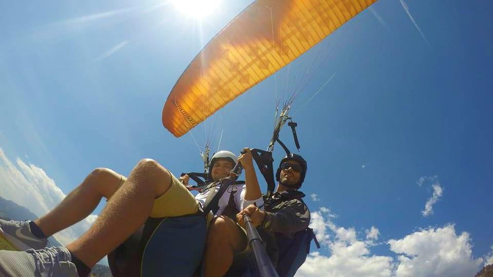 Peak to Peak Paragliding Tandem Flight