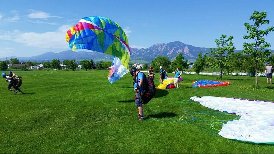 Peak to Peak Paragliding Ground Practice