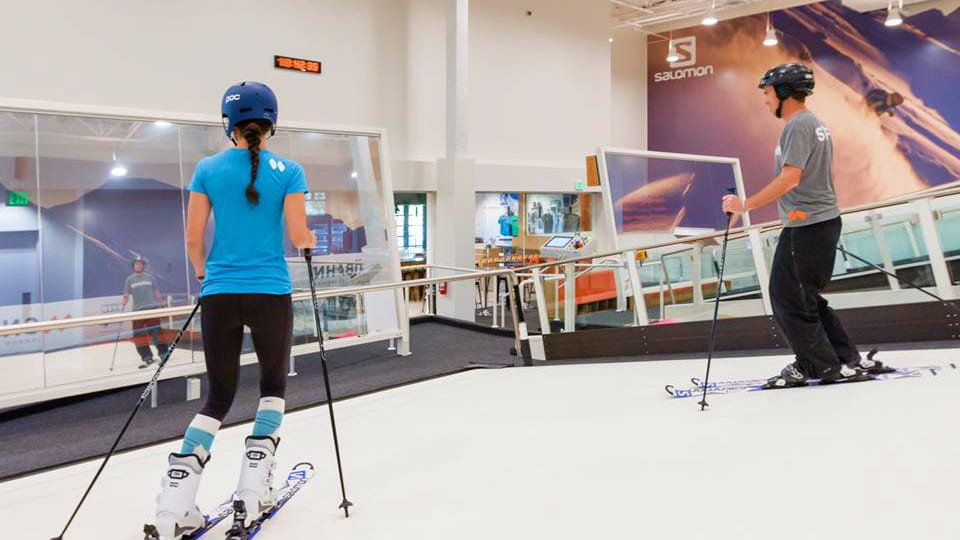 Snobanh Centennial Indoor Skiers