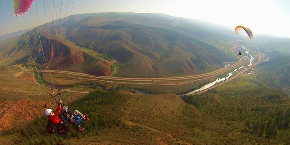 Vail Valley Paragliding Colorado