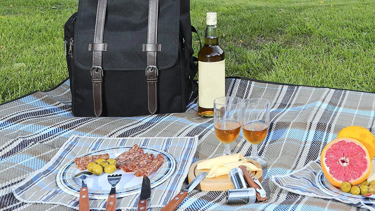 California Picnic Backpack Set
