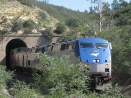 Amtrak Rail Raton Pass Colorado