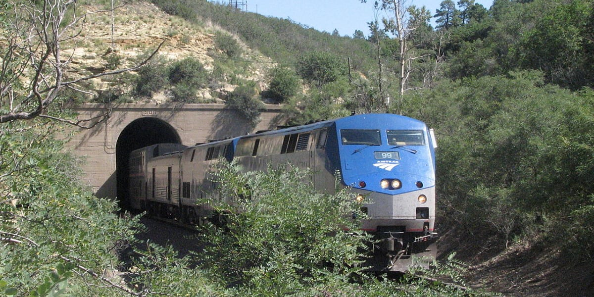 Amtrak Rail Raton Pass Colorado