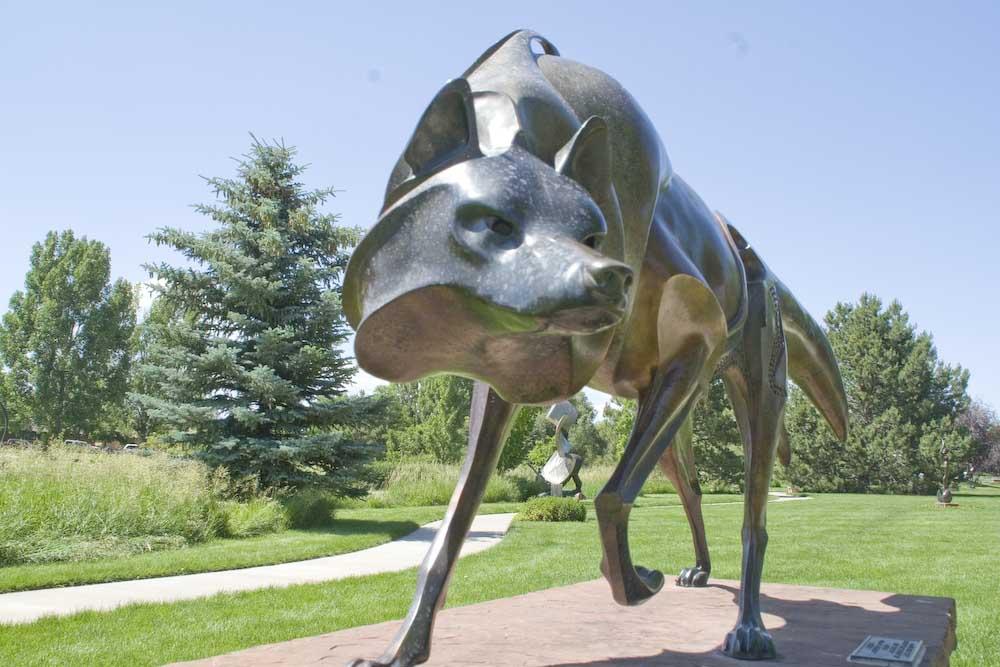 Benson Park Sculpture Garden Loveland Colorado