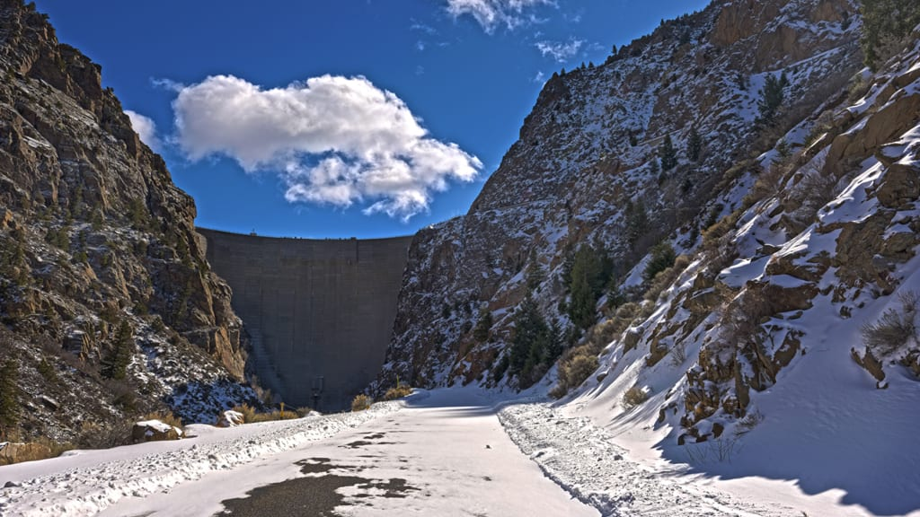 Morrow Point Dam Black Canyon of the Gunnison National Park