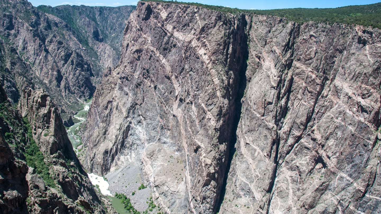 Painted Wall Black Canyon of the Gunnison National Park
