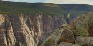 Black Canyon of the Gunnison Painted Wall Overlook