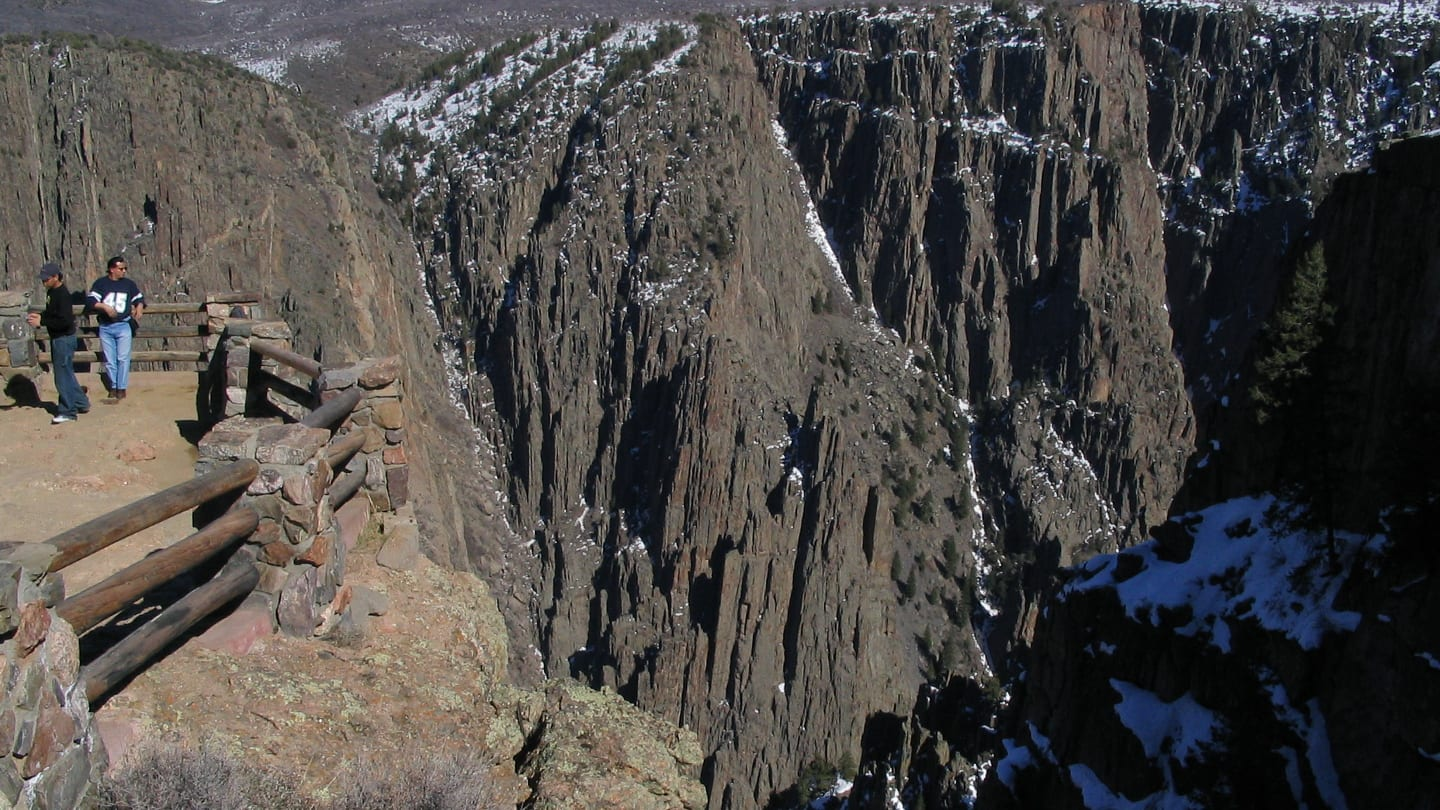 Black Canyon of the Gunnison South Rim Overlook