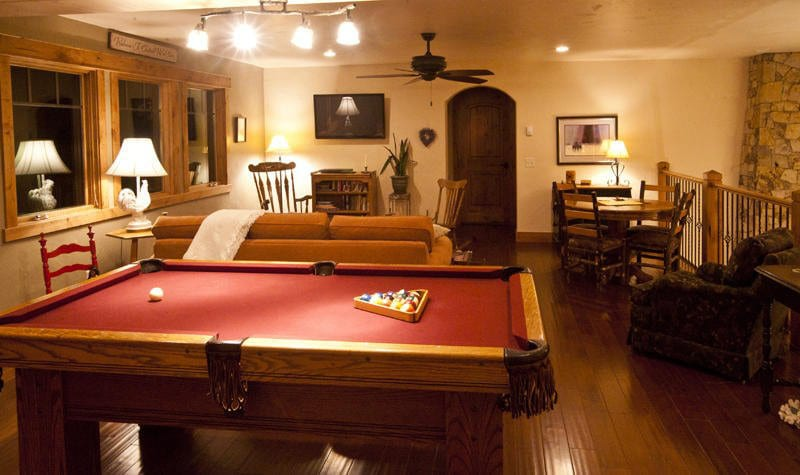 Chalet Val D'Isere Billiard Table Steamboat Springs