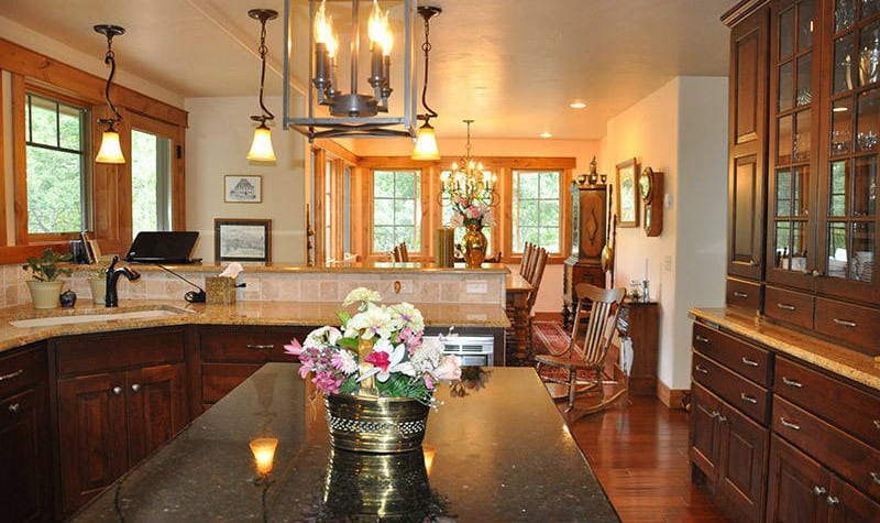 Chalet Val D'Isere Kitchen Dining Room Steamboat Springs
