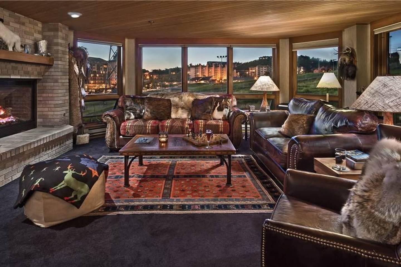 Chateau Chamonix Fireside Lounge Steamboat Springs