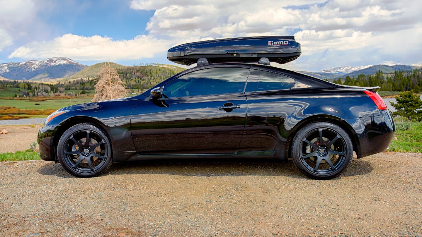 Driving Roof Storage Box Routt County Colorado