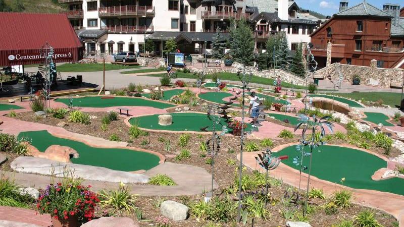 Miniature Golf Edwards Colorado