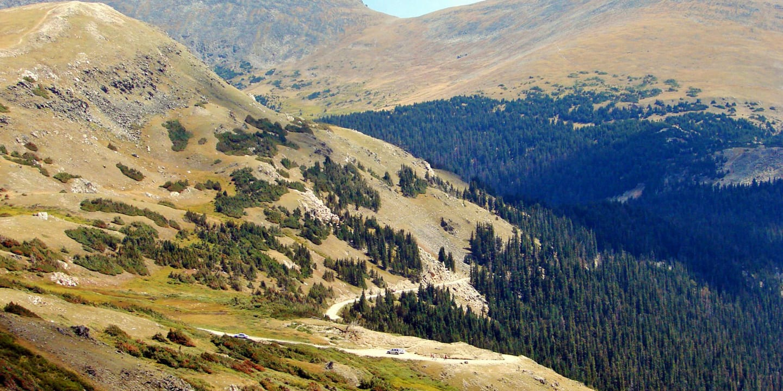 Mountain Driving Trail Ridge Road Colorado