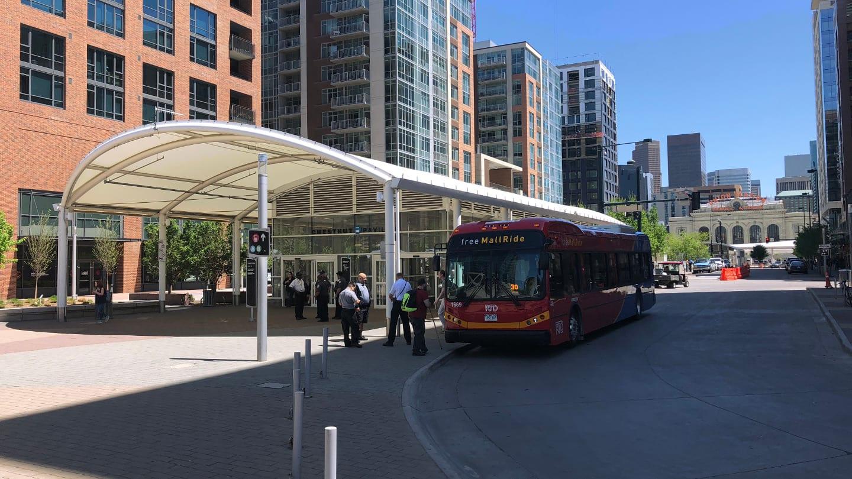 Colorado Transportation Denver Free Mall Ride Bus