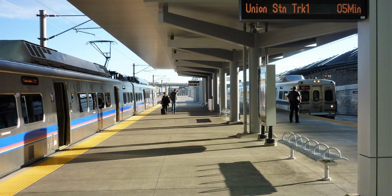 Train Union Station Denver Colorado Transportation