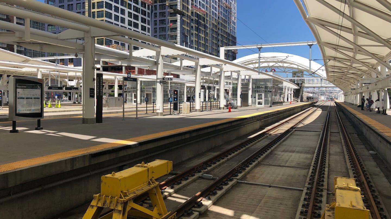 Denver Airport Train Union Station
