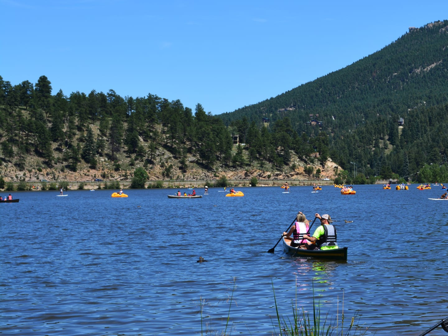 Evergreen Lake Park Boaters