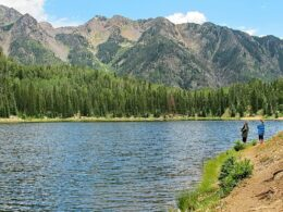 Trout Fishing Potato Lake Durango Colorado