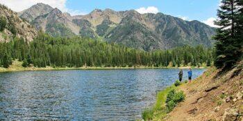 Trout Fishing Potato Lake Durango Colorado