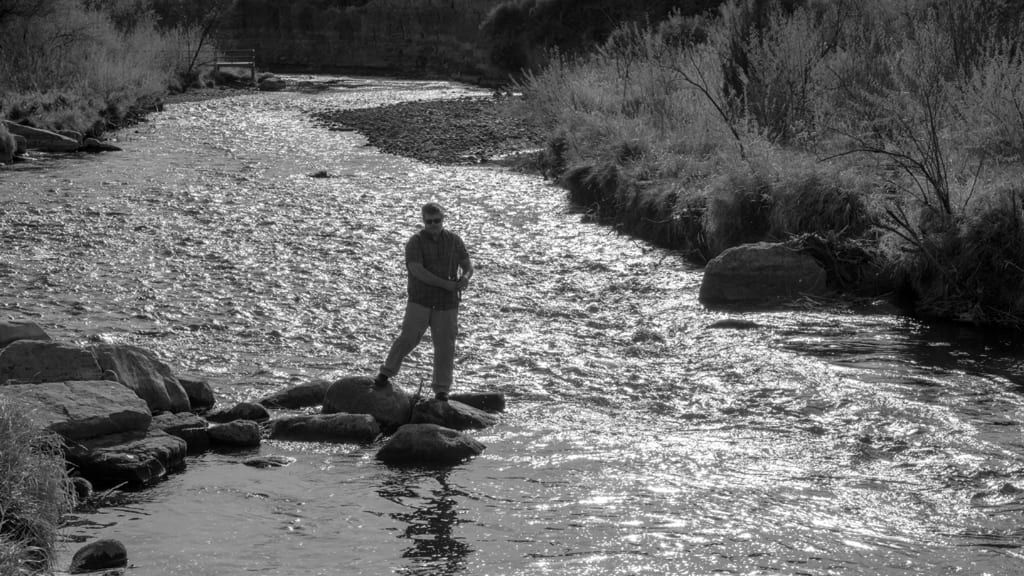 Fishing Uncompahgre River Montrose Colorado