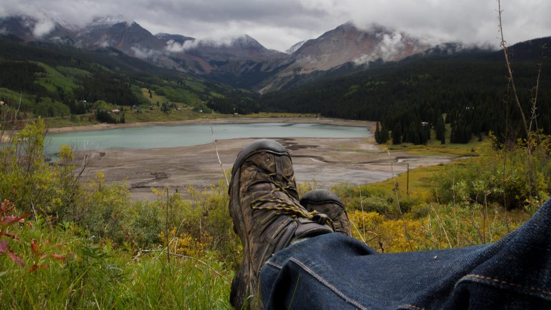 Hiking Trout Lake Colorado
