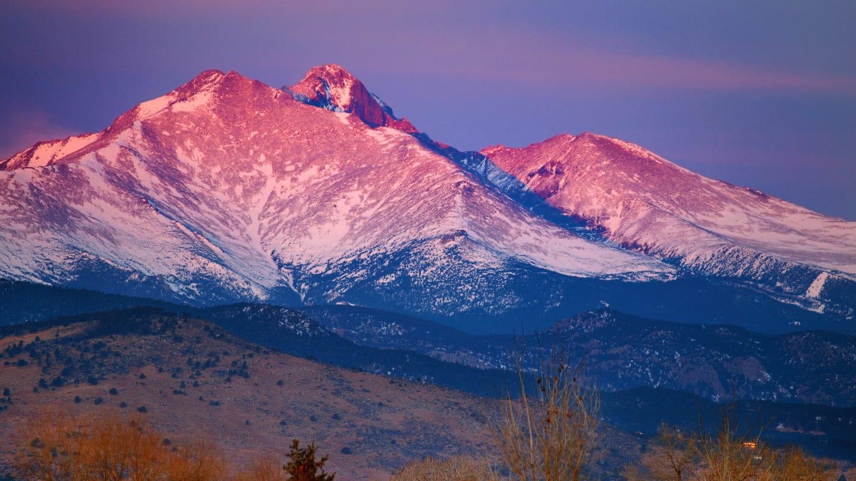 Hiking Longs Peak Mount Meeker Colorado