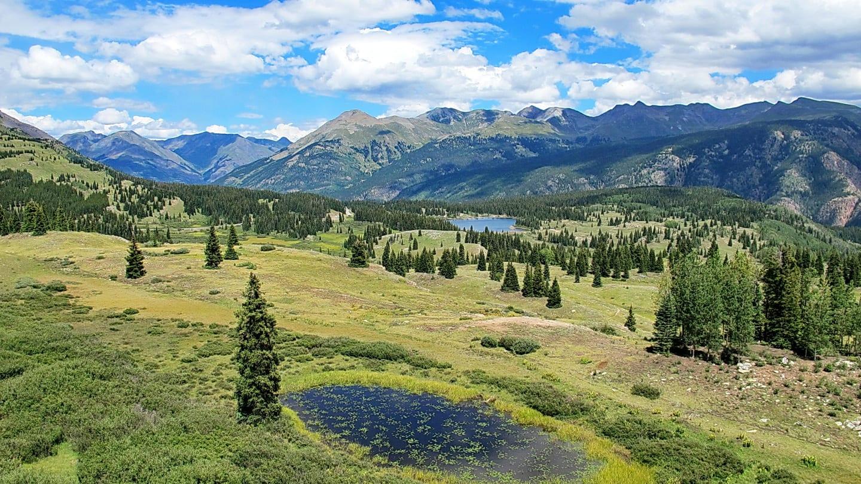 Colorado Trail Hiking Molas Pass Silverton Colorado