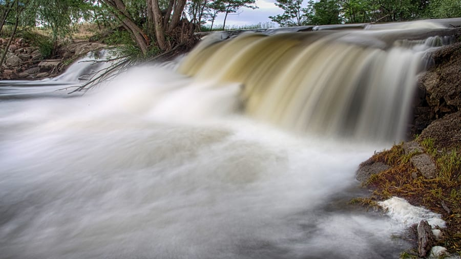 Hiking Saint Vrain Creek Waterfall Longmont