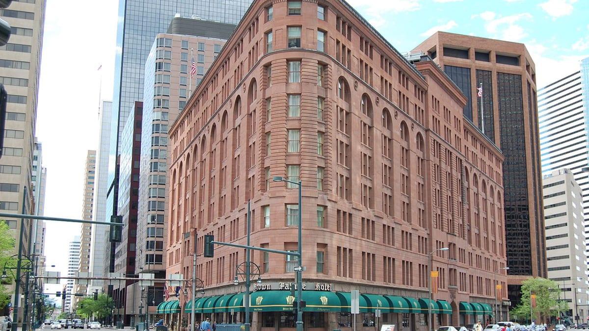 Historic Brown Plaza Hotel Denver