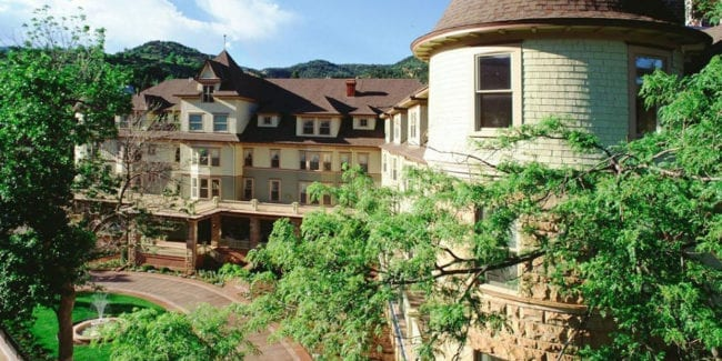 Historic Cliff House Hotel Colorado Springs