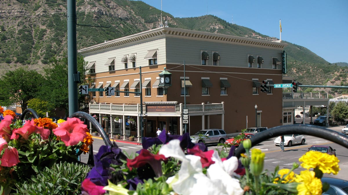 Historic General Palmer Hotel Durango