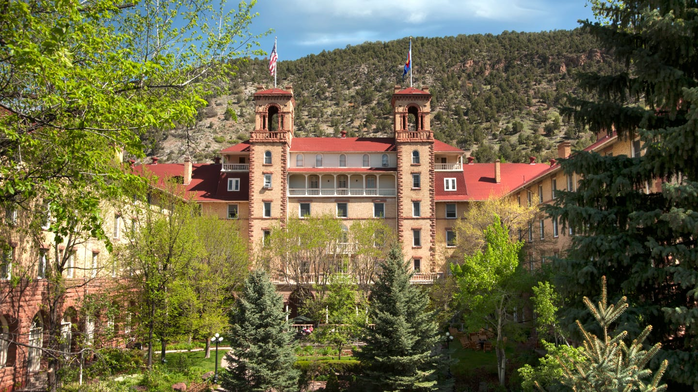 Historic Hotel Colorado Glenwood Springs