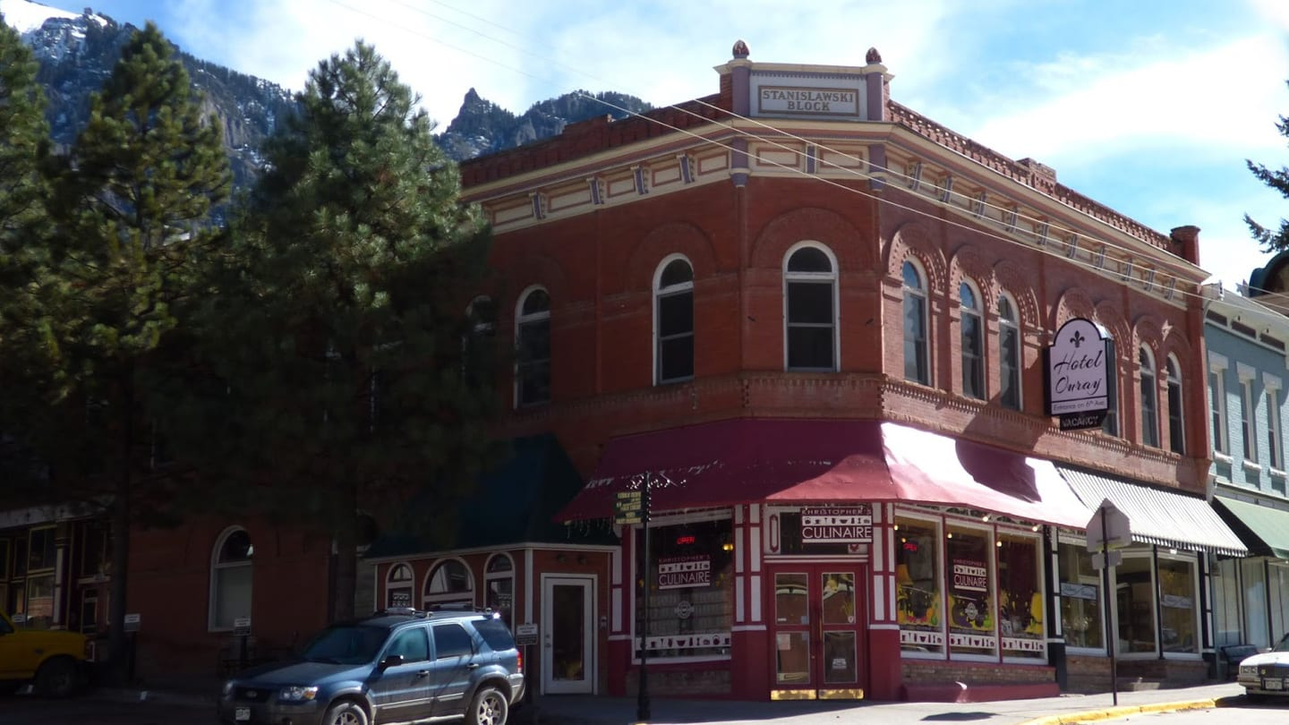 Historic Hotel Ouray Colorado