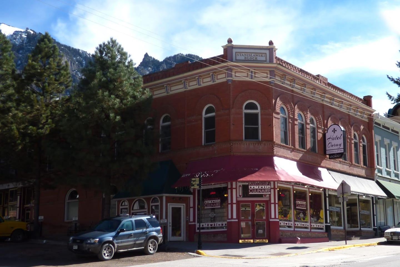 Historic Hotel Ouray Colorado