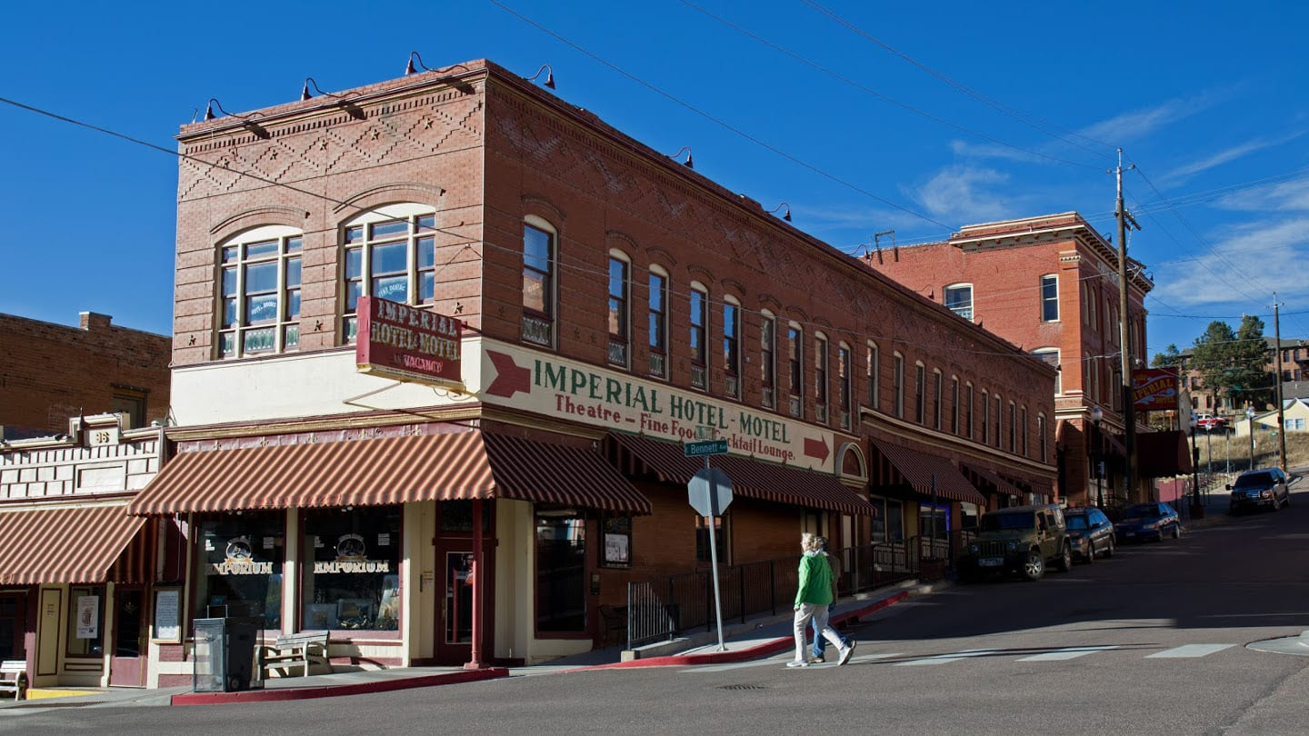 Historic Imperial Hotel Cripple Creek