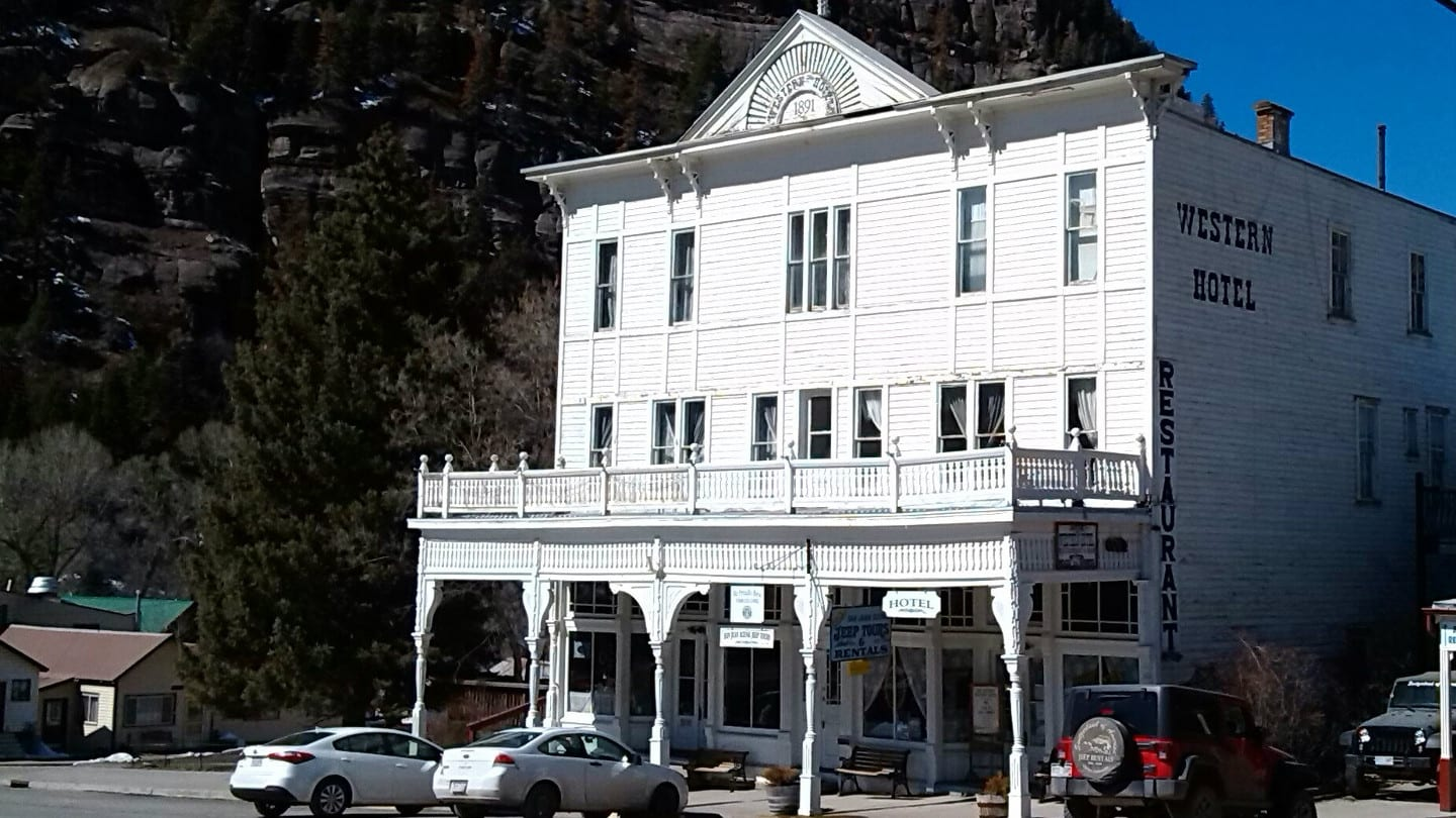 Historic Western Hotel Ouray Coloraod