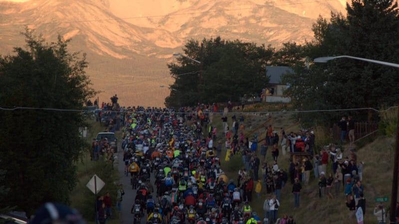 Leadville 100 Trail Race Start