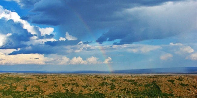 Mesa Verde Wilderness Rainbow