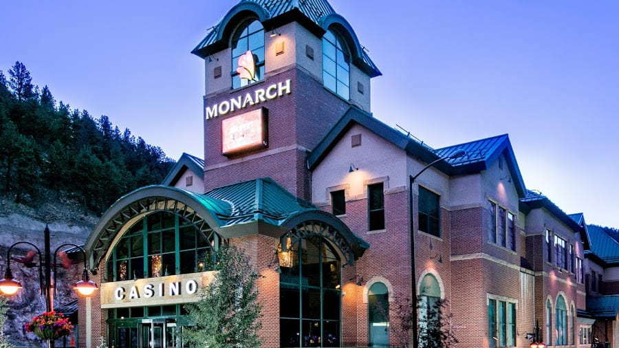 Monarch Casino Black Hawk Colorado Exterior Evening
