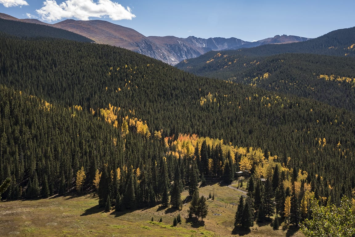 Mount Evans Wilderness Autumn Colorado