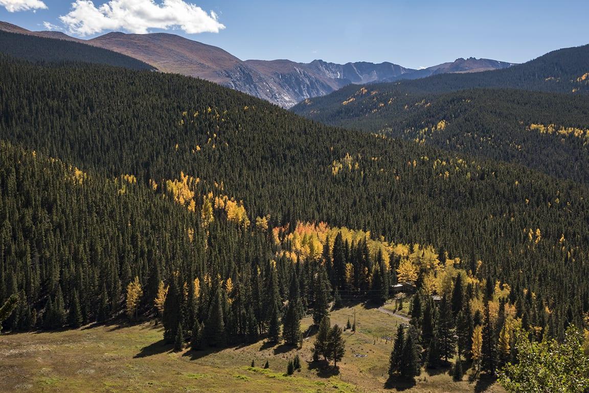 Mount Evans Wilderness Autumn Colorado